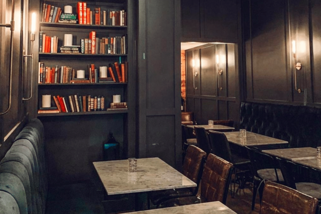This Bookish Speakeasy Requires A Password Via Phone Booth To Get In