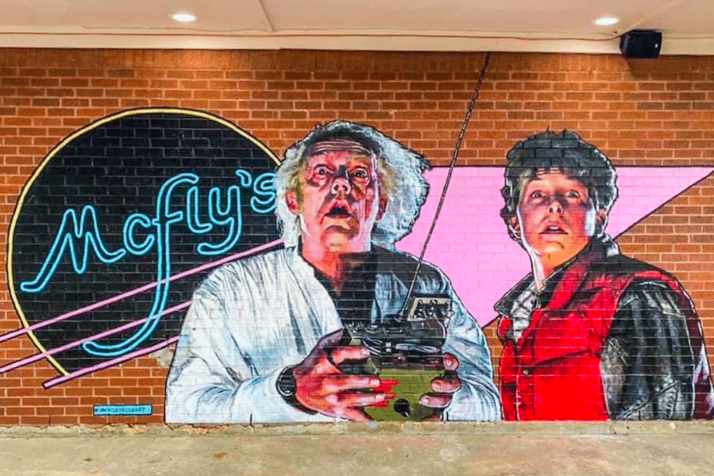 Doc, Theres's A Back To The Future-Themed Bar In Dallas