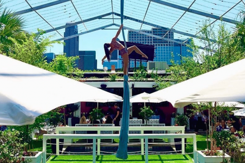 XOXO Dining Room Just Opened A Stunning Spring Garden Terrace